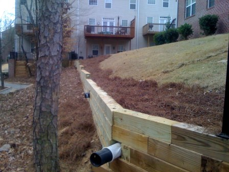 Retaining Wall Photo 2